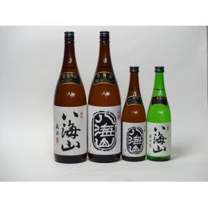 八海山スペシャル4本セット(純米吟醸酒1800ml720ml 吟醸酒1800ml720ml)1800ml×2本 720ml×2本 sake-gets
