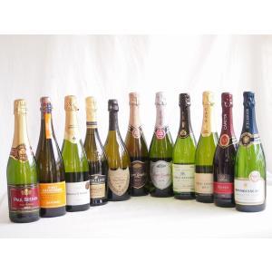 ワインセット ドンペリ飲み比べ11本セット(ドンペリニヨン ギフト箱付 白 正規輸入品750ml+世界の厳選スパークリングワイン|sake-gets