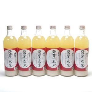 6本セット 篠崎 国菊 発芽玄米甘酒(はつがげんまいあまざけ)ノンアルコール 985g(福岡県)|sake-gets