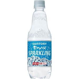 サントリー南アルプスの天然水スパークリング 炭酸水 ペットボトル 500ml×5本