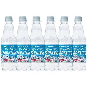 サントリー南アルプスの天然水スパークリング 炭酸水 ペットボトル 500ml×10本