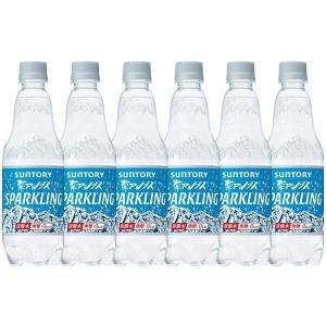 サントリー南アルプスの天然水スパークリング 炭酸水 ペットボトル 500ml×12本|sake-gets