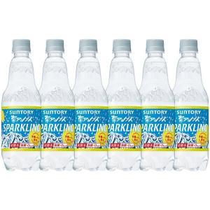 サントリー南アルプスの天然水スパークリングレモン 炭酸水 ペットボトル 500ml×12本