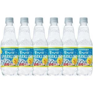 サントリー南アルプスの天然水スパークリングレモン 炭酸水 ペットボトル 500ml×15本