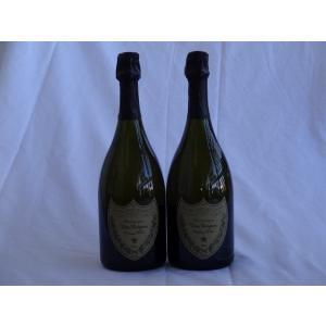 パーティー祝乾杯酒 15人分2本セット ドンペリニヨン 白 正規輸入品750ml×2本(100ml×15人分) sake-gets