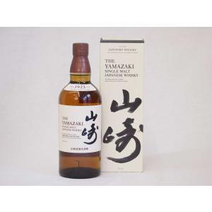 サントリーウイスキー 山崎 シングルモルト ギフトボックス付 43度 yamazaki whisky 700ml(ギフト対応可)|sake-gets