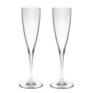 贈り物セット ギフトレリーフセットバカラ ドンペリニヨン シャンパンフルートペア レリーフグラス1 メッセージ sake-gets