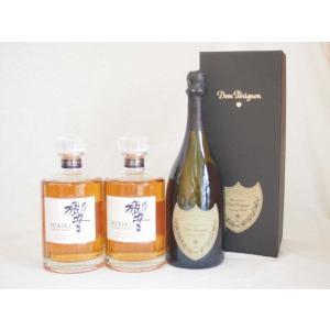 正規ドンペリと響JAPANESE HARMONY シングルモルト2本  計3本セット|sake-gets