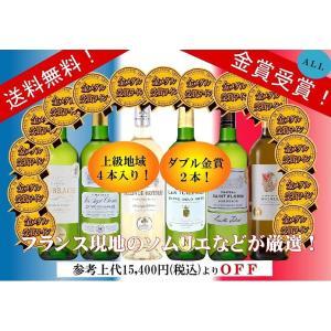 セレクション 金賞受賞酒 フランスワイン 白ワイン 5本セット 750ml×5本
