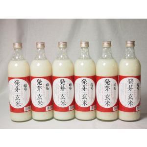 篠崎 国菊甘酒 発芽玄米 あまざけノンアルコール 985g×6本(福岡県)|sake-gets