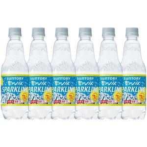 サントリー 南アルプス スパークリングレモン 炭酸水 無糖0cal 500ml×12本|sake-gets