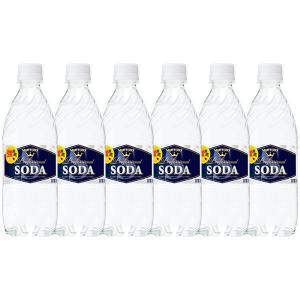 サントリーソーダ 強炭酸水 ペットボトル 無糖0cal 490ml×10本|sake-gets