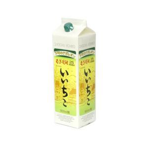 いいちこ 麦焼酎 25度 1800mlパック 1ケース(6本)|sake-hunter