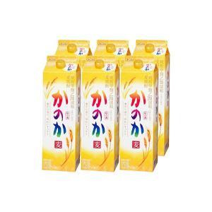 アサヒ かのか 麦焼酎 25度 1800mlパック 1ケース(6本)  |sake-hunter