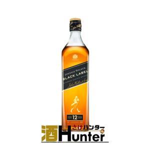 ウイスキー ジョニーウォーカー ブラックラベル 黒 12年 40度 700ml 正規品 箱入|sake-hunter