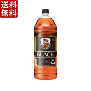 【送料無料】アサヒ ブラックニッカ クリアブレンド 37度 4000ml(4L)ペット×4本(1ケース) (※東北は別途送料必要)|sake-hunter