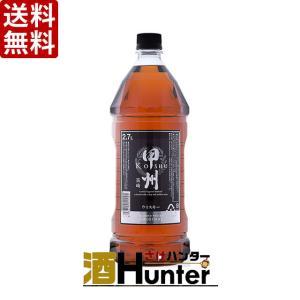 【送料無料】富永貿易 甲州韮崎 オリジナルウイスキー 37度 2700mlペット×6本(1ケース) (※東北は別途送料必要)|sake-hunter