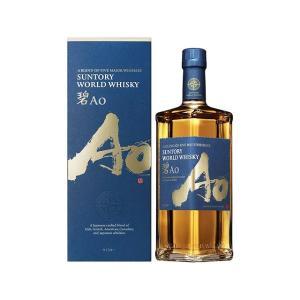 サントリー ワールドウイスキー 碧Ao 43度 700ml 箱入|sake-hunter