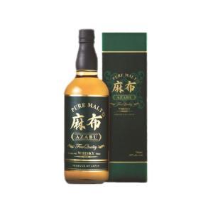 ウイスキー 麻布 ピュアモルトウイスキー 40度 700ml 箱付 sake-hunter