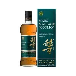 ウイスキー マルス モルテージ越百(こすも) マンサニージャ カスクフィニッシュ 42度 700ml|sake-hunter