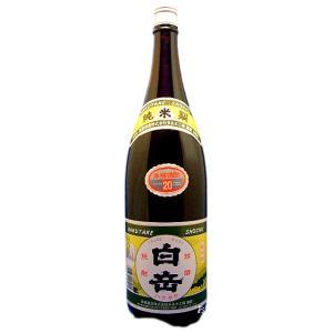 白岳(はくたけ) 本格純米焼酎 20度 1800ml瓶 球磨焼酎 熊本県人吉市 高橋酒造|sake-izawa