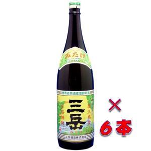 三岳(みたけ) 本格芋焼酎 25度 1800ml瓶 1ケース(6本) 鹿児島県屋久島 三岳酒造|sake-izawa