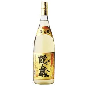 隠し蔵(かくしぐら) 本格貯蔵麦焼酎 25度1800ml瓶 鹿児島県 濱田酒造|sake-izawa