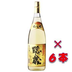 隠し蔵(かくしぐら) 本格貯蔵麦焼酎 25度1800ml瓶 1ケース(6本) 鹿児島県 濱田酒造|sake-izawa