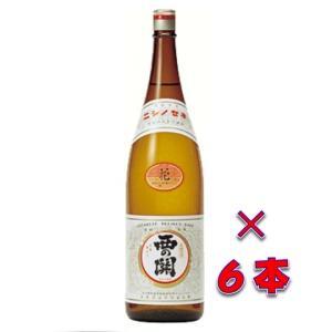 (送料無料)清酒 西の関 花(にしのせきはな) 1800ml瓶 1ケース(6本) 大分県 萱嶋酒造|sake-izawa