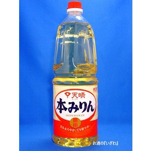 メルシャン 天晴徳用本みりん (12本で送料無料) 1800ml ペットボトル|sake-izawa