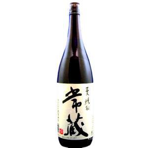 常蔵(つねぞう) 減圧蒸留  本格麦焼酎 25度 1800ml 瓶 大分県臼杵市 久家本店|sake-izawa