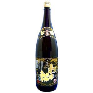 わか松(若まつ)黒麹仕立て 本格芋焼酎 25度 1800ml瓶 鹿児島県 若松酒造|sake-izawa