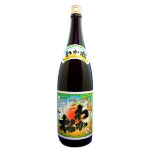 わか松(若まつ)白麹仕立て 本格芋焼酎 25度 1800ml瓶 鹿児島県 若松酒造|sake-izawa