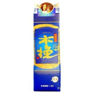木挽ブルー (こびきブルー) 本格芋焼酎 20度 1800mlパック 宮崎県 雲海酒造|sake-izawa