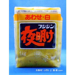 フジジン味噌 夜明け あわせ白 1Kg 大分県臼杵市 富士甚醤油|sake-izawa