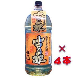 古の扉(いにしえのとびら) 25度 4000mlペット 1ケース(4本入り) 本格熟成麦焼酎 福岡県 篠崎|sake-izawa