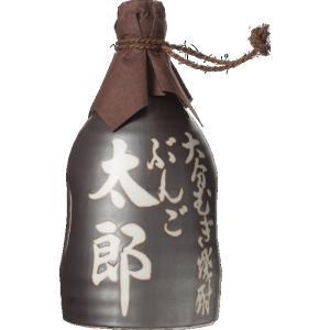 オリジナル名入れ徳利 大分むぎ焼酎 ぶんご太郎 25度 720ml陶器入り ぶんご銘醸|sake-izawa