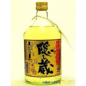 隠し蔵(かくしぐら) 本格貯蔵麦焼酎 25度720ml瓶 鹿児島県 濱田酒造|sake-izawa
