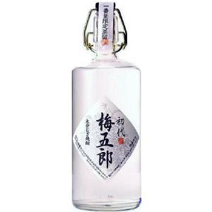 (おおいた銘醸蔵)初代 梅五郎(うめごろう)一番釜蒸留・無ろ過 本格麦焼酎 40度 720ml 瓶 大分県佐伯市 ぶんご銘醸|sake-izawa