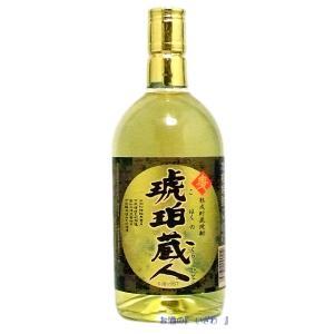 琥珀の蔵人(こはくのくらひと) 25度 720ml 樫樽熟成貯蔵 本格麦焼酎 若松酒造|sake-izawa