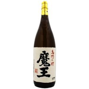 魔王(6本まで1個口) 25度 1800ml瓶 本格芋焼酎 鹿児島県 白玉醸造 (限定品)|sake-izawa