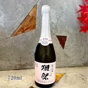 御中元 お中元 日本酒 獺祭 だっさい 純米大吟醸 45 スパークリング 720ml クール便|sake-komiyama