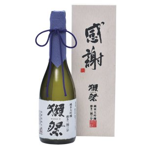 父の日ギフト 日本酒 獺祭 だっさい 純米大吟醸 磨き二割三分 720ml 【感謝】木箱入り