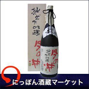 月の井 純米大吟醸 片岡鶴太郎「書」  箱 720ml|sake-market