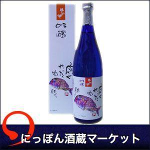 月の井 吟醸 片岡鶴太郎「鯛」より  箱 720ml|sake-market