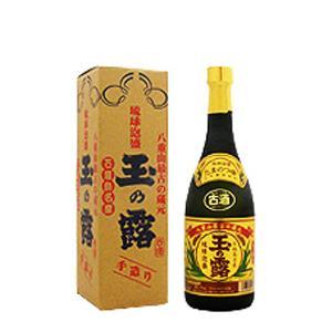 泡盛・玉の露金ラベル5年古酒 43% 720ML|sake-miyatoyasaketen