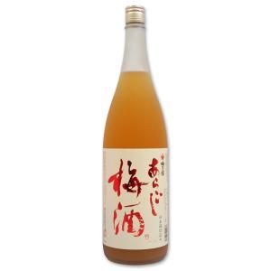 梅乃宿 あらごし梅酒 1800ml瓶|sake-nishida