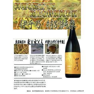 食事と合わせてこそ真価を発揮 新潟県小千谷市:高の井酒造謹製 伊乎乃(いおの)特別純米 720ml瓶|sake-nishida