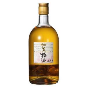 白山伏流水で造られたキレイな味わいの梅酒 石川県・小堀酒造店謹製 加賀梅酒 萬歳楽 720ml瓶|sake-nishida
