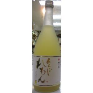 奈良県梅乃宿 あらごしれもん 720ml瓶|sake-nishida